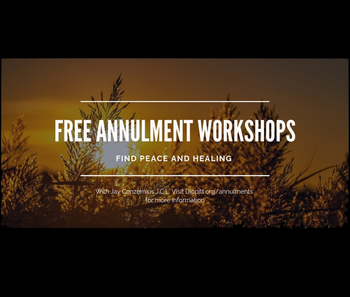 Free Annulment Workshop - Cranberry