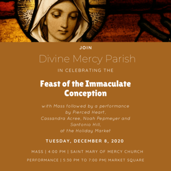 Mass for Feast of the Immaculate Conception