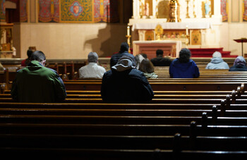 Mass, Holy Hour, & Hang Out
