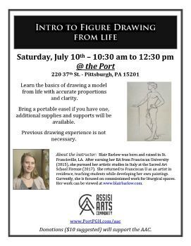 Intro to Figure Drawing from Life