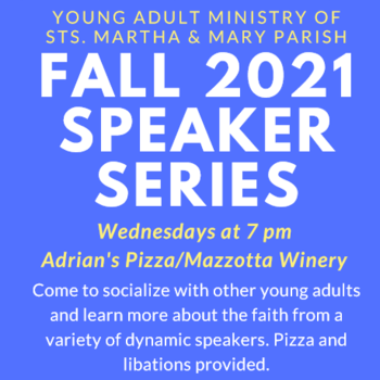 Young Adult Speaker Series