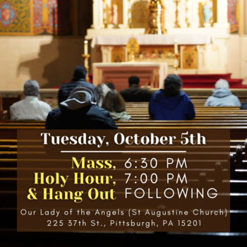 Holy Hour & Hangout