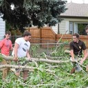 Wind Storm Hits Laramie, HT Youth Help Out