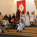 Children's Christmas Pageant Rehearsal
