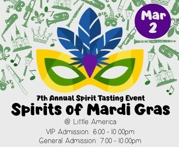 Spirits of Mardi Gras Youth Fundraiser