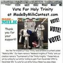 "Please Vote for Our Entry in the ""Made by Milk"" Contest!"