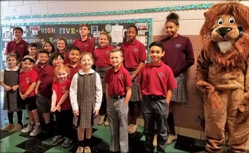 Students of the Month for the Virtue of Courage