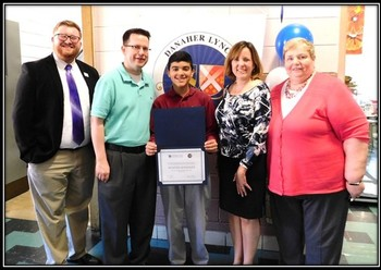 Danaher Lynch Family Foundation Scholarship Winner - Hunter Gonzales