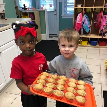 PreK Fall Baking