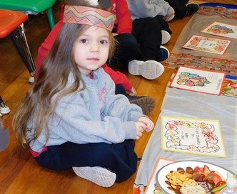 PreK Celebrates Thanksgiving
