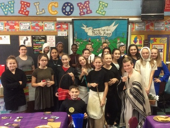 7th Grade's Medieval Monologues