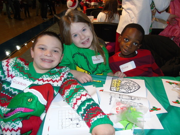 Grade 1 Christmas Party at CEC