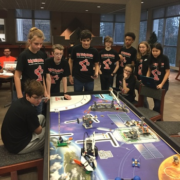 HTS Brings Back TWO First-Place Wins at Robotics Competition!