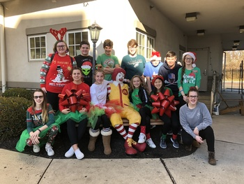 Spreading Christmas Cheer to Ronald McDonald House
