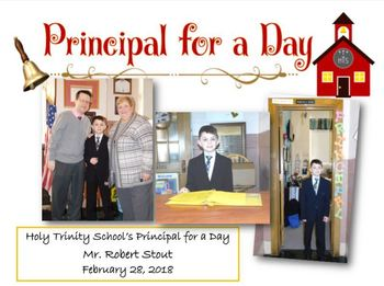 Principal for a Day - Mr. Stout