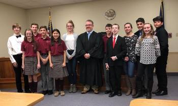 Mock Trial Team - Order in the Court!