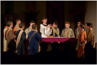 HTS Passion Play Featured in the Bucks County Courier Times
