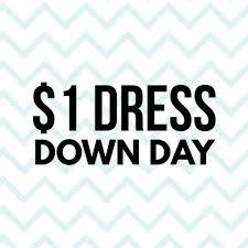 Christmas Dress Down Day - $1 Donation to Britney (Unbound Child)