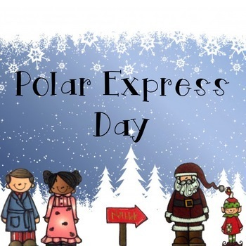 Kindergarten's Polar Express Day