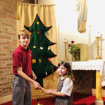 Annual Blessing of the Advent Wreath and Jesse Tree Ceremony