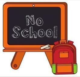 No School for Students - Professional Development Day