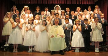 Congratulations to Our First Communion Students!