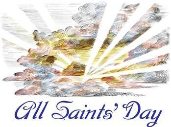 All Saints' Day Holy Day - no school