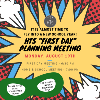 """First Day"" Planning Meeting - All are Welcome!"