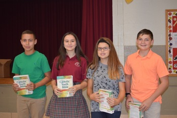Students Recognized by Knights of Columbus