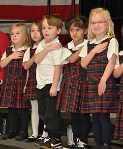 Veterans Day Celebration a Great Success - Holy Family Academy - St