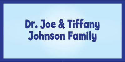Dr. Joe and Tiffany Johnson Family