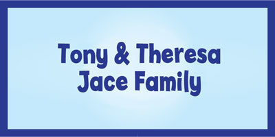 Tony and Theresa Jace Family