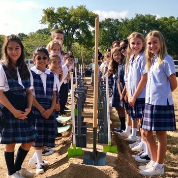 School Holds Groundbreaking Ceremony