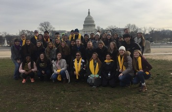 Temple students make pilgrimage to DC to march for life