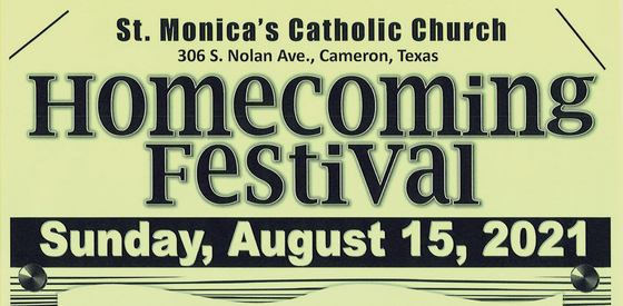Homecoming Festival, St. Monica in Cameron