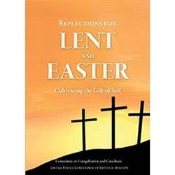 These Lenten and Easter reflections center on cultivating the gift of self. Intended for families and individuals of all ages, they invite us to pray, reflect, discuss, and respond.  Also available in Spanish.