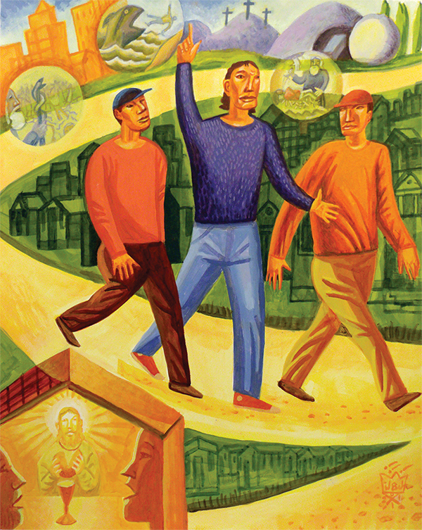 The Road to Emmaus by James B. Janknegt