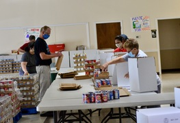 Kyle parishioners heed the call to feed the hungry