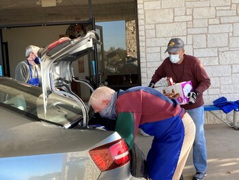 Andice parish helps working poor put food on the table