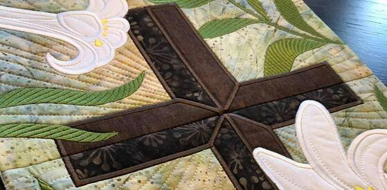 A Quilters Retreat: Stitching Faith and Creativity Together  Feb. 18-20, 2022