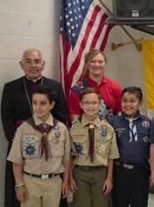 DCCS Annual Bishop's Recognition Mass