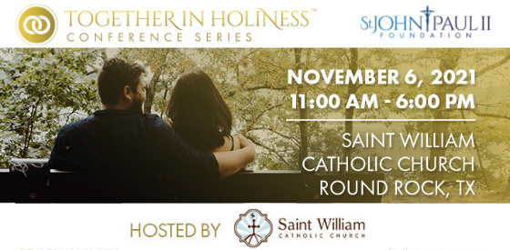 Together in Holiness Marriage Enrichment Conference