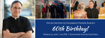 Father Zlock's 60th Birthday Celebration