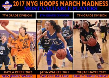NYG Middle School March Madness