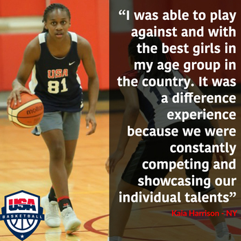 2019 Harrison on USAB Experience