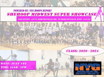 2nd SheHoops Midwest Super Showcase