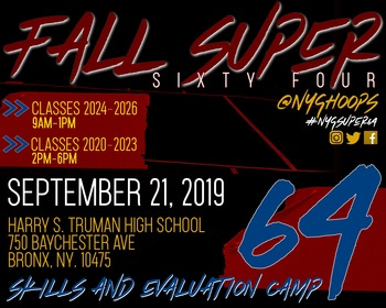 Fall Northeast Super 64 (NYC)
