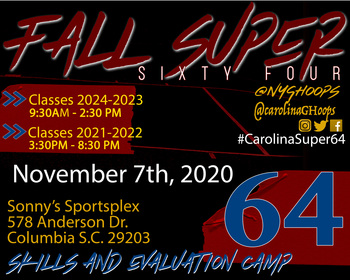 Carolina Super 64 Skill /Showcase