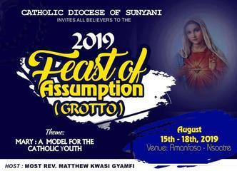 2019 FEAST OF ASSUMPTION (GROTTO)