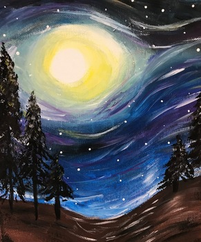 Ladies Night Out -Paint and Socialize Event - St. Thomas School